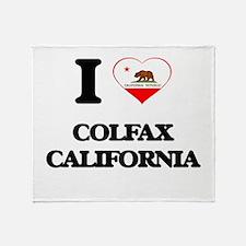 I love Colfax California Throw Blanket