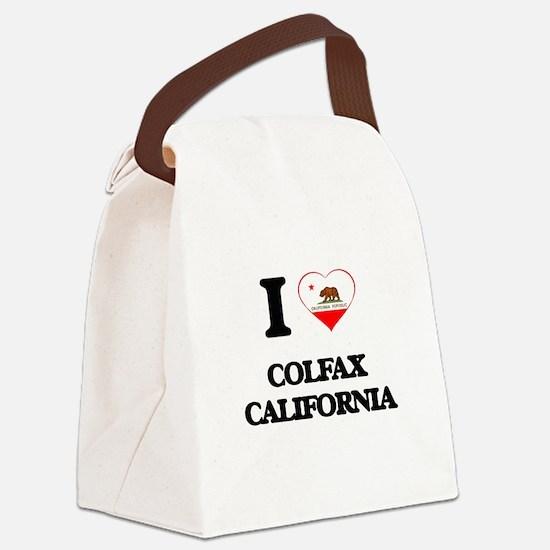 I love Colfax California Canvas Lunch Bag