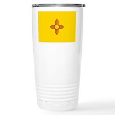 New Mexico State F|lag Travel Mug
