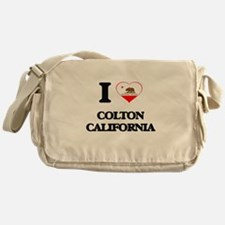 I love Colton California Messenger Bag