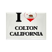 I love Colton California Magnets