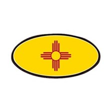New Mexico State F lag Patch