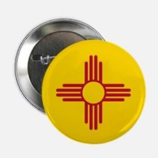 "New Mexico State F|lag 2.25"" Button (100 pack)"