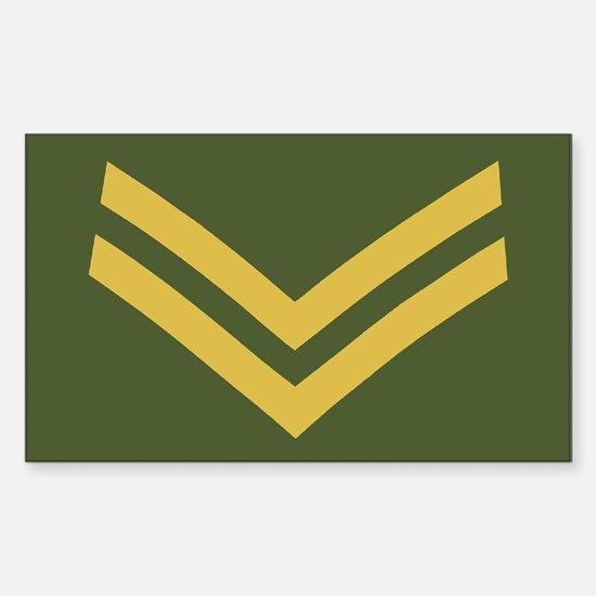 Royal Marines Corporal<BR> Sticker 1