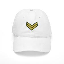 Royal Marines Corporal<BR> White Baseball Cap
