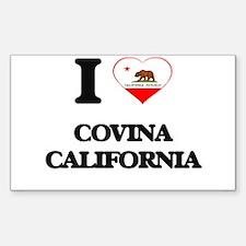 I love Covina California Decal