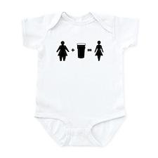 Fatty to fitty Infant Bodysuit