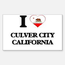 I love Culver City California Decal