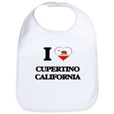 I love Cupertino California Bib