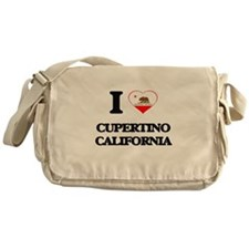 I love Cupertino California Messenger Bag