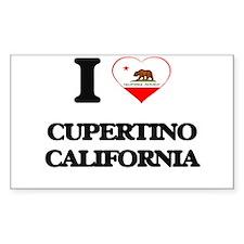 I love Cupertino California Decal