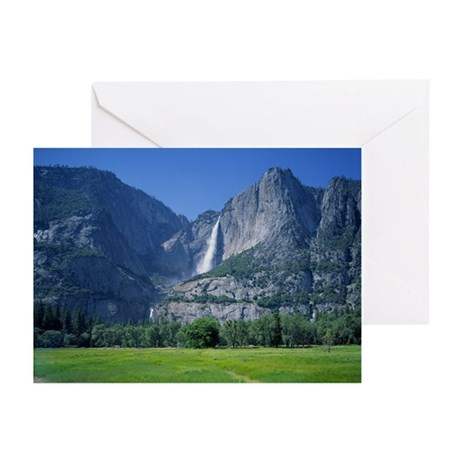 Yosemite Falls Greeting Cards (Pk of 20)