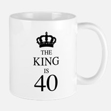 The King Is 40 Mugs
