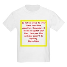 marco rubio quote T-Shirt
