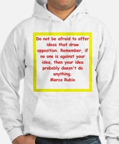 marco rubio quote Hoodie