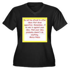 marco rubio quote Plus Size T-Shirt