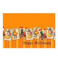 TLK020 Halloween Borders Postcards (Package of 8)