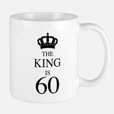The King Is 60 Mugs
