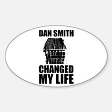 Dan Smith Oval Decal