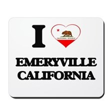 I love Emeryville California Mousepad