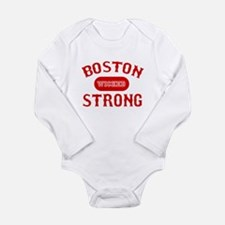 Cute Boston strong Long Sleeve Infant Bodysuit