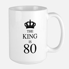 The King Is 80 Mugs