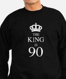 The King Is 90 Sweatshirt (dark)