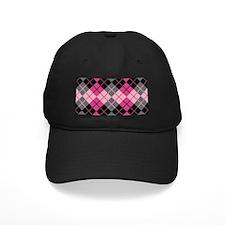 Argyle Design Baseball Hat