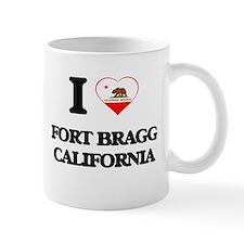 I love Fort Bragg California Mugs
