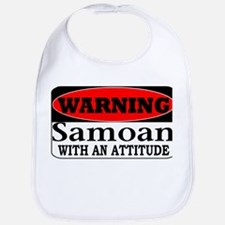 Warning! Samoan w/ an Attitud Bib