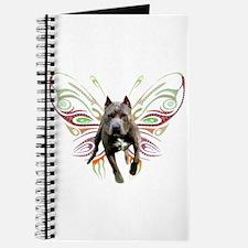 Pit Bull Butterfly Art Journal
