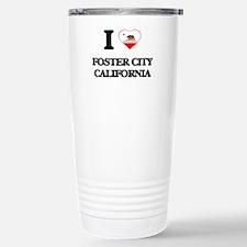 I love Foster City Cali Travel Mug