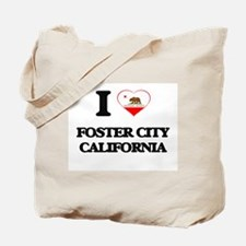 I love Foster City California Tote Bag