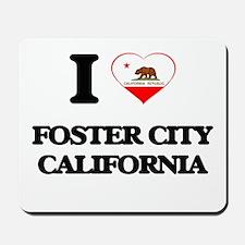 I love Foster City California Mousepad
