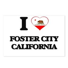 I love Foster City Califo Postcards (Package of 8)