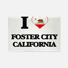 I love Foster City California Magnets