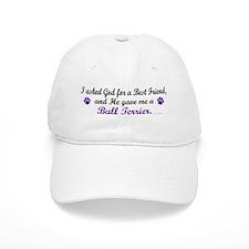 God Gave Me A Bull Terrier Baseball Cap