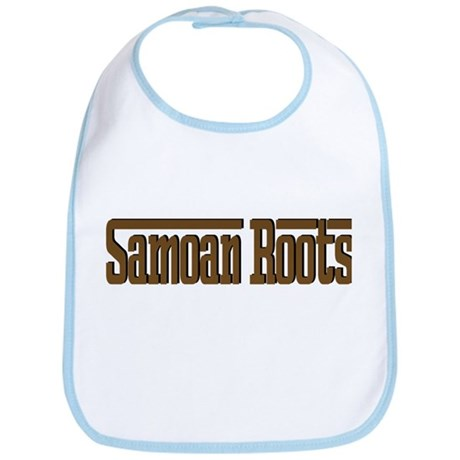 Samoan Roots Brown Bib