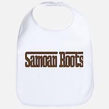 Samoan Roots Brown Bib