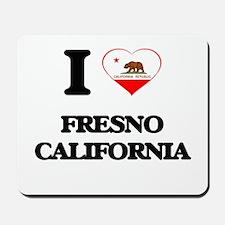 I love Fresno California Mousepad