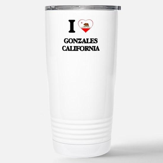 I love Gonzales Califor Stainless Steel Travel Mug