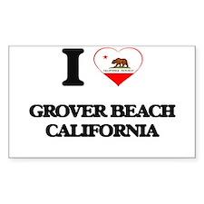 I love Grover Beach California Decal