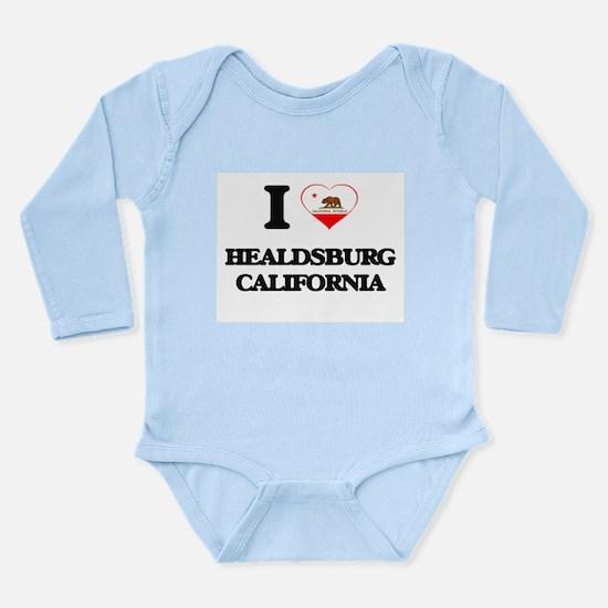 I love Healdsburg California Body Suit