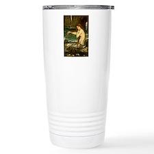 Mermaid by JW Waterhous Travel Mug