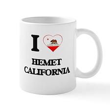 I love Hemet California Mugs