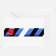 LEATHER PRIDE BAR/SKEWED/SIR-Greeting Card