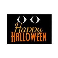 Halloween Eyes Rectangle Magnet