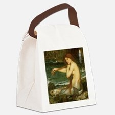 Mermaid by JW Waterhouse Canvas Lunch Bag