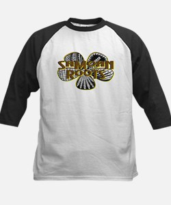 Samoan Roots Tribal Kids Baseball Jersey