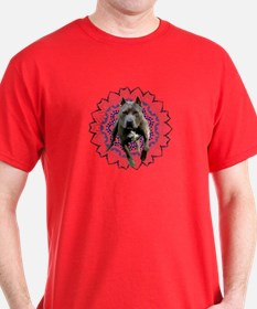 Pit Bull Kaleidoscope Graphic #P4 T-Shirt